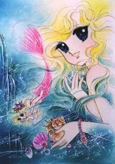 "shojo-manga-no-memory:  Yumiko Igarashi ""The little mermaid"""
