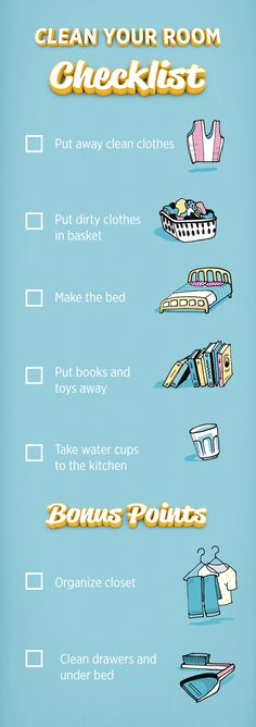 Back to school is the busiest time of the year for our little ones, which can mean that cleanliness takes a backseat. Keep your little Clean Freak on top of things this school year with this Clean Your Room checklist.