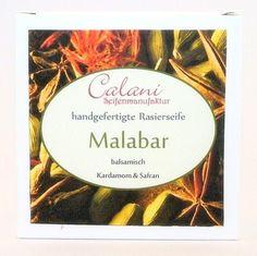 Malabar - Shaving Soap 65g - Calani Seifenmanufaktur