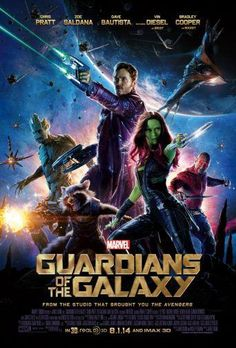 Guardians Of The Galaxy Movie poster 24inx36in Poster