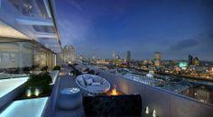 Eine der großartigsten Terrassen Londons – bei uns zu buchen!  Foto: Hotel ME London