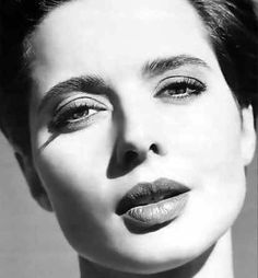 Isabella Rossellini - I admired her so much in the 90s - she was sophisticated, mysterious, and unconventionally beautiful. (Still is!)