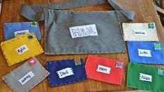 Felt Family Mail Kit - fun Christmas gift