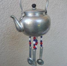 teapot windchimes