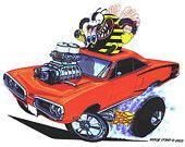 """1970 SuperBee """"Buzz Fink"""" by Vince Crain"""