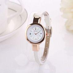 2016 luxury brand watch women fashion gold watch quartz clock girl slim band dress watches hours reloj mujer relogio feminino