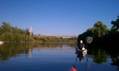 Luis R. sent this fishing photo from the American River near Sacramento.