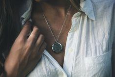Women's Necklaces, Dog Tag Necklace, Diamond, Jewelry, Fashion, Moda, Necklaces For Women, Jewels, Fashion Styles
