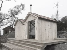 Scandinavian Architecture, Architecture Design, Backyard Guest Houses, Sauna House, Sauna Design, Outdoor Sauna, Traditional House, House Colors, Shed