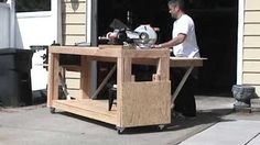 BUILDING A STRONG WORKBENCH PT 1 OF 4 - YouTube