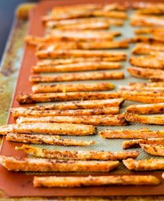 Learn how to make crispy sweet potato fries. It's easy!! -  Joybx