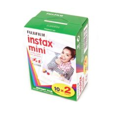 Fuji Instax Mini Film Set  The cheapest place I find the 20 pack of film, is at Walmart for $14.94.