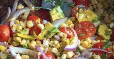 Avocado Corn Salad – 12 Tomatoes bar near me Avocado Corn Salad Corn Avocado Salad, Corn Salads, Potato Salad, Chopped Salads, Egg Salad, Salad Recipes, Picnic Recipes, Stuffed Peppers, Stuffed Potatoes