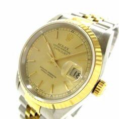 ROLEX Datejust 16233 Silver M's Wrist Watch U343219 #brandear #watch http://ift.tt/2zWOhfh