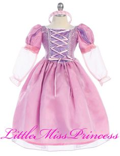For lavender wedding option? $68 Princess Renaissance Girls Dress-Up Costume