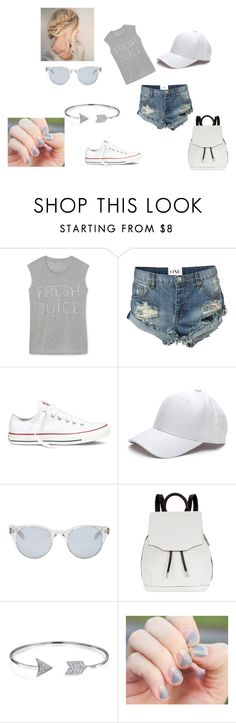 """Amusement Park Outfit"" by lovelee840 on Polyvore featuring Rebecca Minkoff, One Teaspoon, Converse, Sun Buddies, rag & bone and Bling Jewelry"