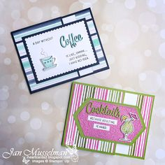 i♥Cards2: Global Stamping Friends Bog Hop Theme: 2020-2022 In Colors Plastic Canvas Tissue Boxes, Plastic Canvas Patterns, Card Tags, I Card, Coffee Cards, Beaded Crafts, Stampin Up Catalog, Stamping Up Cards, Cute Cards