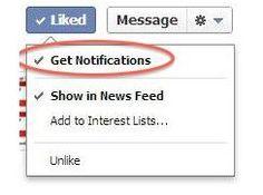 Facebook Testea la Posibilidad de que los Usuarios Reciban Notificaciones de Todas las Publicaciones de las Páginas de Fans