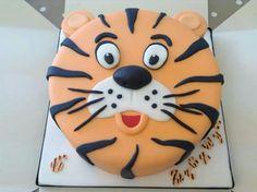 Fab tiger cake-darker orange