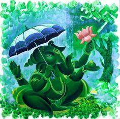 Indian Art Guru :: Ganesh 18