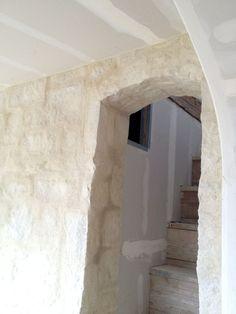 stone wall- Brooke patina farm update