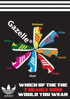 Love this Gazelle poster from Adidas. Adidas Og, Adidas Shoes, Shoe Poster, Football Casuals, Football Team, Casual Art, Kicks Shoes, 7 Deadly Sins, Adidas Fashion