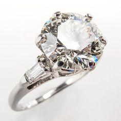 2 Carat Vintage #Diamond Engagement #Ring. http://jangmijewelry.com/