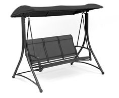 Porch Swing 3 Seat Outdoor Yard Garden Patio Relax Steel  4 x 5 Text #SunTimeOutdoorLiving