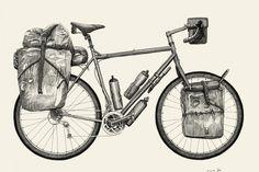 Pannier | Preparing for a Cycle Tour