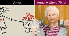 Tak będzie wyglądać, gdy będziesz mieć 70 lat!