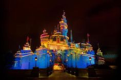 Night view of Disneyland in Hongkong. - Blackstation/Moment/Getty Images