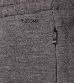 ZZEGNA:Pantalon SweatFermeture avec coulisse Poches latéraleGris36715936QM