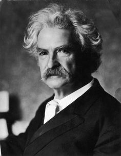 The great author/speaker/humorist Mark Twain was born today 11-30 in 1835. I know my world would not have been as rich without his wonderful prose. I would be hard pressed to even pick a favorite. He passed in 1910.