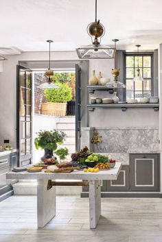 It's no secret that I'm a huge admirer of Steven Gambrel's work. A few weeks back, I wrote a blog post about a beautiful country kitchen designed by S.R. Gambrel and it got me thinking… View Post