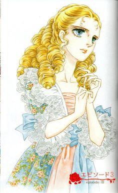 Riyoko Ikeda illustration