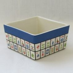 "A new version of a best selling item. This earthenware dish measures 4""x 4"" x  2.25"",  Hand washing is recommended."