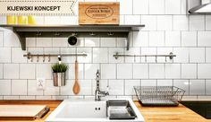 Poddasze zabytkowej kamienicy #attic #poddasze #interiordesign #interior #kitchen #bistro