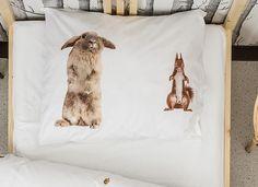 Nu ook Snurk dekbedovertrek Furry Friends – in de webshop van Overtrek.be