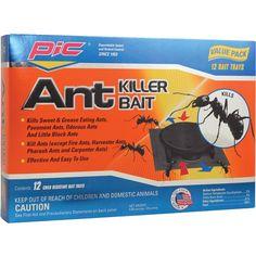 Plstc Ant Kill Sys 12Pk