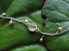 Hand made jewellery inspired by dew drops