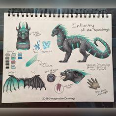 Imagination's Art Book 2015/2016 - Infinity's Refreance Sheet - Wattpad