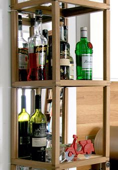 Zia Babele versione torre per creare ovunque il tuo angolo bar / bottles holder for bar