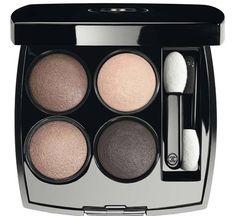 Chanel Eyes Speak Volumes 2016 Summer Collection / LES 4 OMBRES Multi-Effect Quadra Eyeshadow, 266 Tissé Essentiel