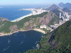 Urca, Praia Vermelha, Copacabana, Rio de Janeiro