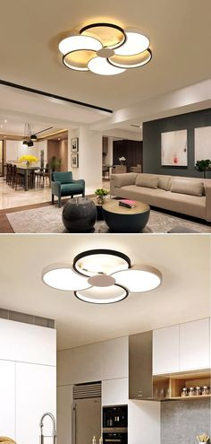 #ceiling  #architecture  #interiordesign  #design  #ceilingdesign  #interior  #homedecor #raypom Is Bulbs Included: Yes Usage: Holiday Dimmable Led Ceiling Lights, Recessed Ceiling Lights, Living Room Lighting, Home Lighting, Ceiling Design, Bulbs, Light Fixtures, Indoor, Dining