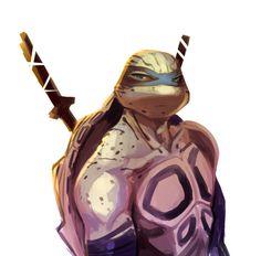 "frenchfrycoolguy: "" if leo were a diamondback turtle ??? species headcanon goofy stuff """