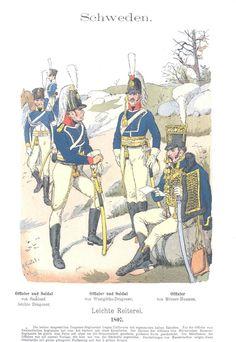 Band VI #26.- Schweden: Leichte Reiterei. 1807.