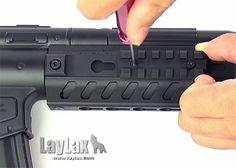 Laylax Nitro.Vo MP5 KeyMod Rail