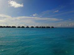 Jetties at the Six Senses Laamu, Maldives
