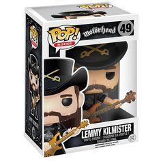 [AURELIEN] Lemmy Kilmister Rocks Vinyl Figure 49 - Funko Pop! par Motörhead